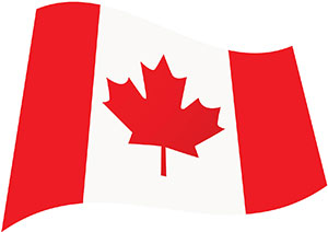 Island Ship Center is raising the Canadian flag with special services for our Canadian Customers